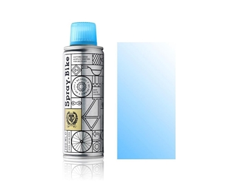 Spray.Bike pocket Fluro Light-Blue Clear