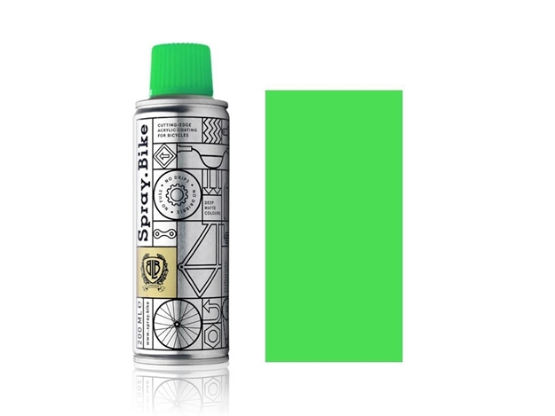 Spray.Bike pocket Fluro Green