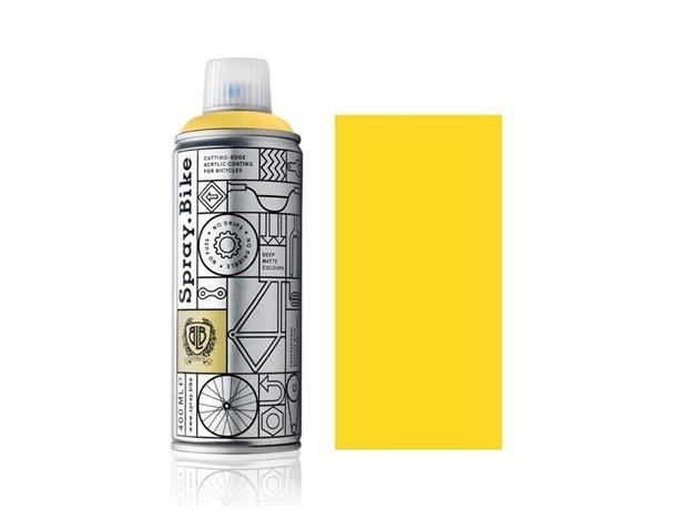 Spray.Bike paint - Chicago Yellow