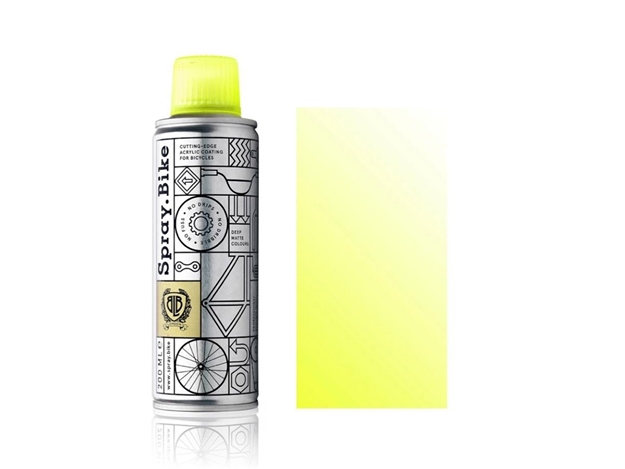 Picture of Spray.Bike pocket paint - Fluro Yellow Clear