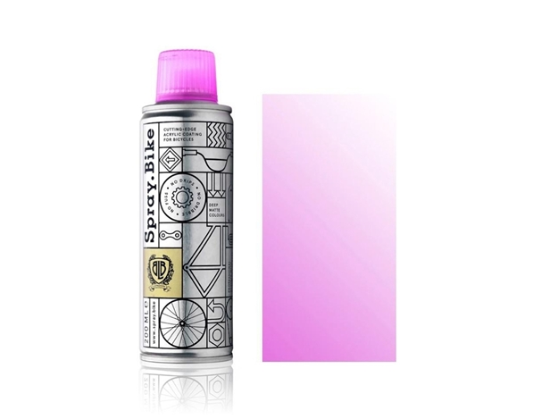 Spray.Bike pocket Fluro Magenta Clear