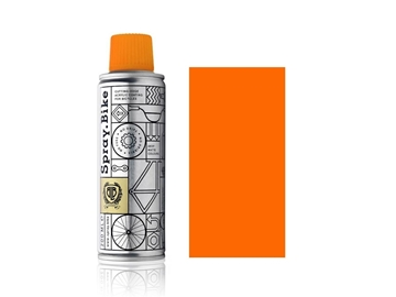 Spray.Bike pocket fluro orange