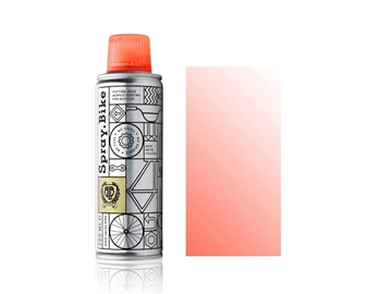 Spray.Bike pocket Fluro Pink Clear