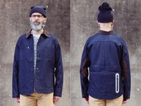 Picture of Hjul Workwear Jacket - Navy Denim