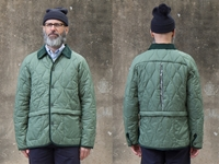 Picture of Hjul Quilted Jacket - Olive