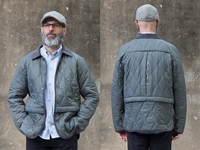 Picture of Hjul Quilted Jacket - Charcoal