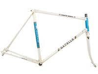 Gazelle Champion Mondial Road Frameset White
