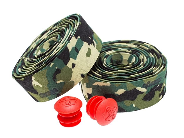Picture of Charge U-bend Bar Tape - Green Camo