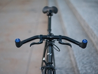 Fyxation Snug Bar End Plugs on bike