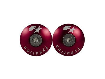 Picture of Fyxation Snug Bar End Plugs - Red