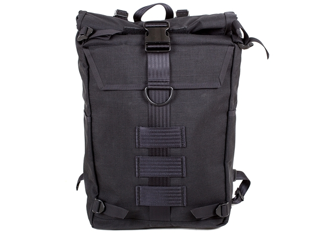 Picture of Veganski Rolltop Backpack - Black