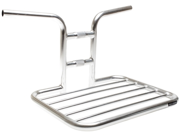 Picture of BLB Flat Rat Handlebar Rack - Polished Silver