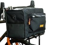 Restrap Rando Bag - Large on bike