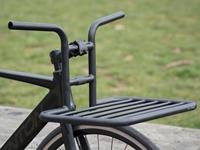 BLB Flat Rat Handlebar Rack on bike