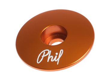 Picture of Phil Wood Top Cap - Orange