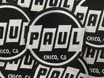 Picture of Paul Components Logo Patch