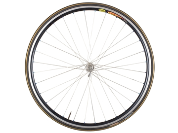 Picture of Mavic CXP-33/Dura-Ace Front Wheel - Black