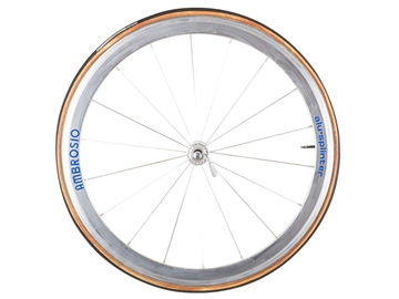 Picture of Ambrosio Alu Sprinter/Campagnolo Front Wheel - Silver