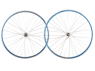 Picture of Ambrosio/Campagnolo Wheel Set - Blue/Silver
