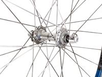 Picture of Ambrosio/Campagnolo Wheel Set - Blue/Silver