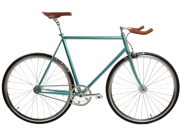 Picture of BLB City Classic Fixie & Single Speed Bike w/Bullhorn - Derby Green