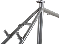 Picture of BLB Hitchhiker Frameset - Satin Ti Grey