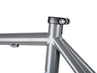 BLB Hitchhiker Frameset Satin Ti Grey Top