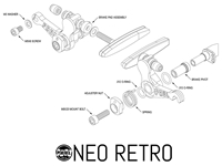 Picture of Paul Components Neo Retro Brake - Polished