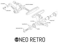 Paul Components Neo Retro Brake parts