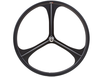 Picture of Teny 3 Spoke Rear Wheel  - Black