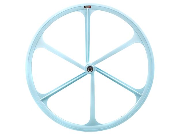 Teny 6 Spoke Front Wheel - Sky Blue