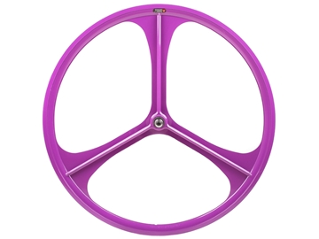 Picture of Teny 3 Spoke Front Wheel - Purple