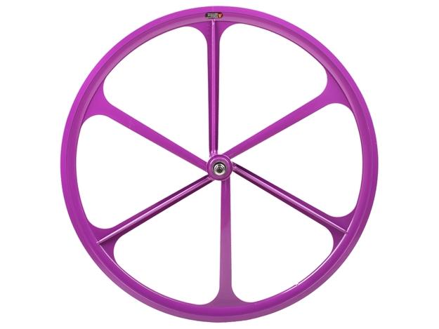 Picture of Teny 6 Spoke Front Wheel - Purple