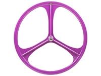 Picture of Teny 3 Spoke Rear Wheel - Purple
