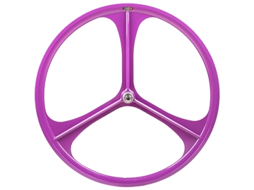 Picture of Teny 3 Spoke Rear Wheel - Purple