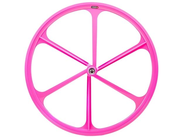 Teny 6 Spoke Front Wheel - Pink