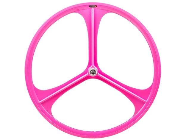 Picture of Teny 3 Spoke Rear Wheel - Pink