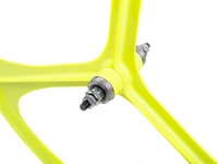 Picture of Teny 3 Spoke Front Wheel - Neon Yellow