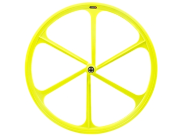 Picture of Teny 6 Spoke Front Wheel - Neon Yellow