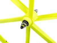 Teny 6 Spoke Front Wheel - Neon Yellow
