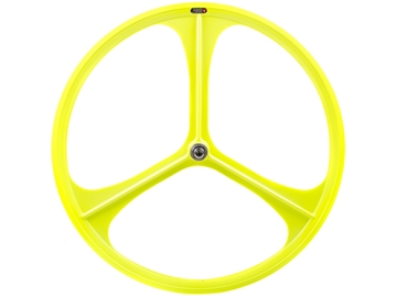Picture of Teny 3 Spoke Rear Wheel - Neon Yellow