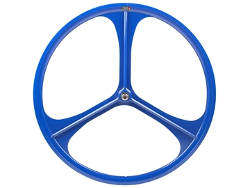 Picture of Teny 3 Spoke Front Wheel - Blue