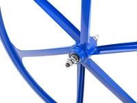 Teny 6 Spoke Front Wheel - Blue
