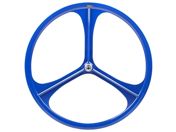 Picture of Teny 3 Spoke Rear Wheel - Blue