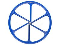 Teny 6 Spoke Rear Wheel - Blue