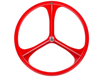 Picture of Teny 3 Spoke Rear Wheel - Red