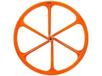Teny 6 Spoke Front Wheel - Orange
