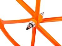 Teny 6 Spoke Rear Wheel - Orange