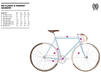 Picture of BLB City Classic Fixie & Single Speed Bike - Champagne