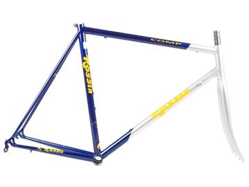 Rossin Road Comp Frameset Blue/White